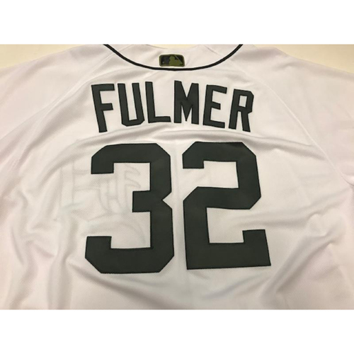 Photo of Team-Issued Michael Fulmer Camo Jersey