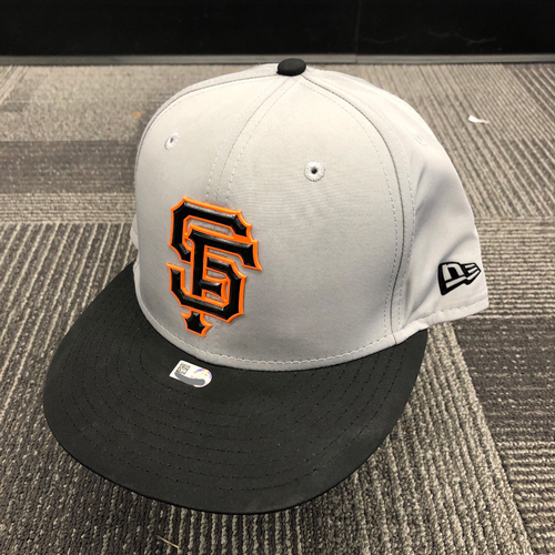 Photo of 2018 Team Issued Gray Batting Practice Cap - #22 Andrew McCutchen - Size 7 3/8
