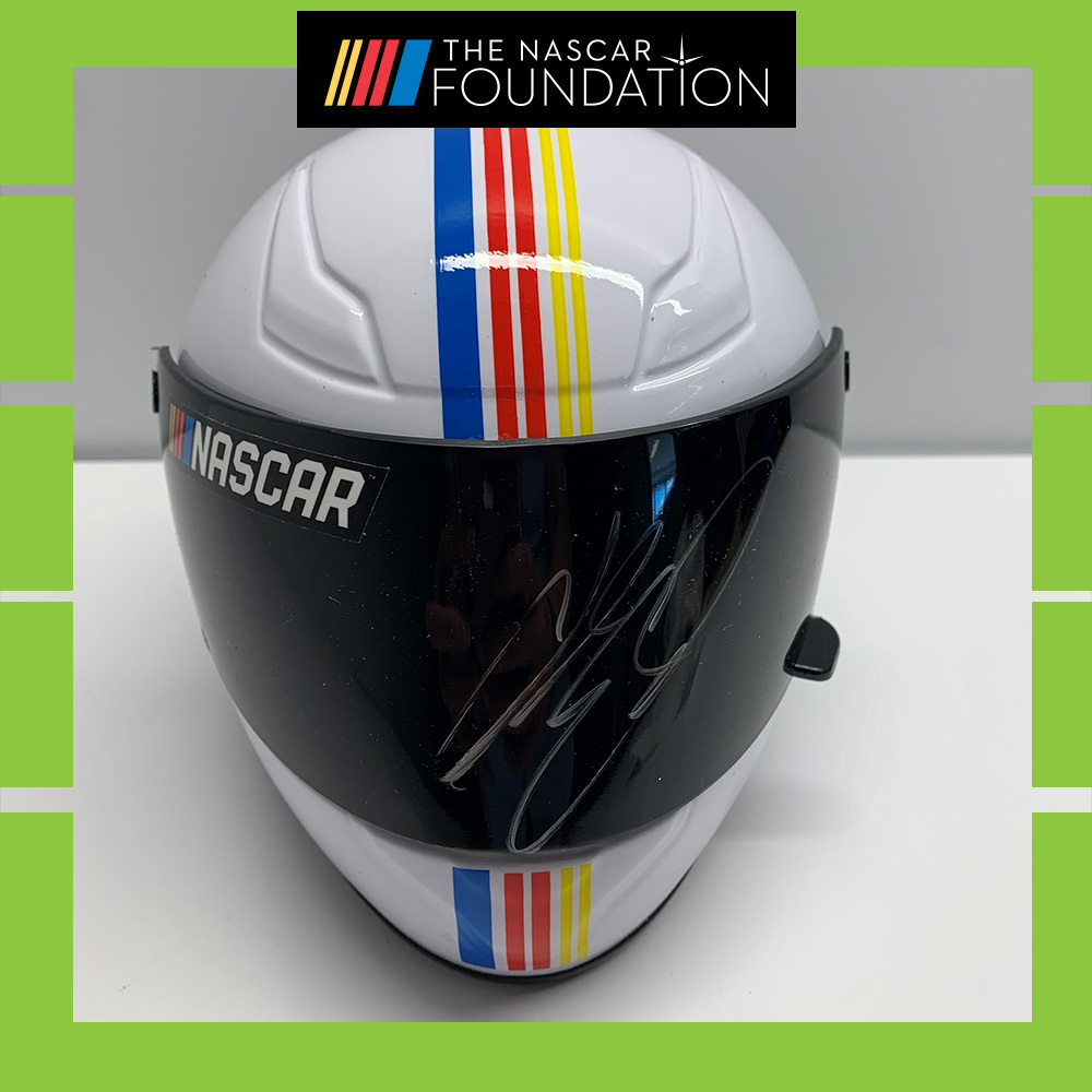 NASCAR's Chase Elliott Autographed Helmet!
