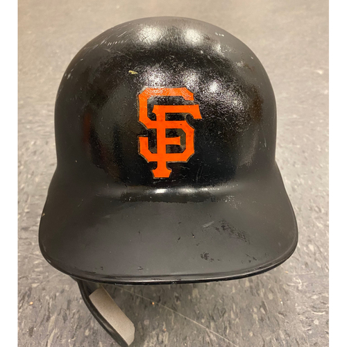 Photo of 2019 Game Used Batting Helmet - worn by #8 Gerardo Parra - Authenticated on 4/30/19 vs LAD - Size 7 5/8
