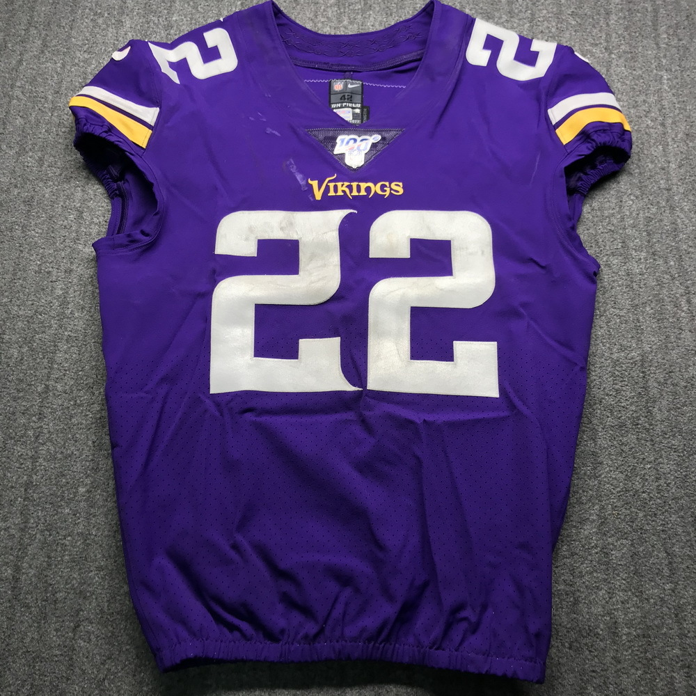 NFL Auction | STS - Vikings Harrison Smith Game Used Jersey (11/17 ...