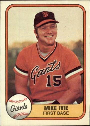 Photo of 1981 Fleer #435 Mike Ivie