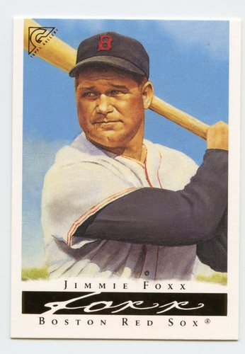 Photo of 2003 Topps Gallery HOF #71 Jimmie Foxx Black Sleeve