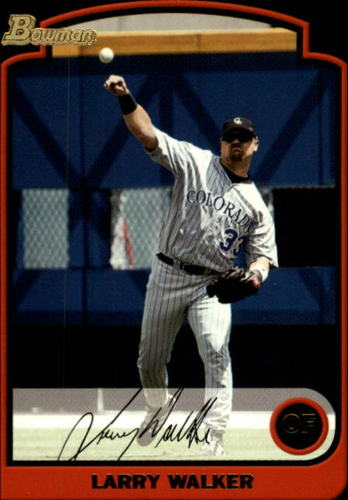 Photo of 2003 Bowman #35 Larry Walker