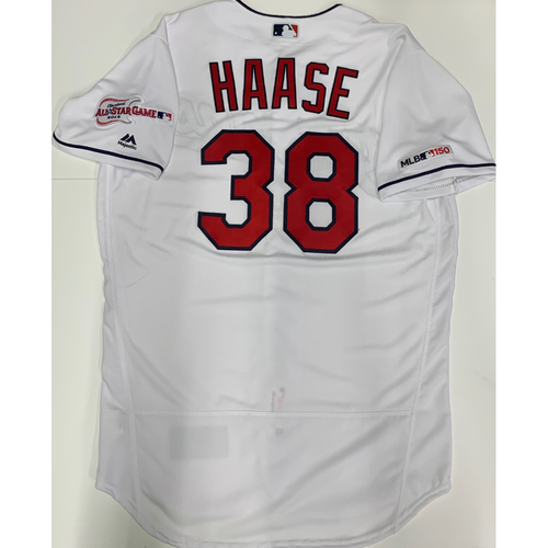 Photo of Eric Haase Team Issued 2019 Home Jersey