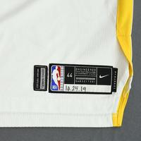 Ky Bowman - Golden State Warriors - Game-Worn Association Edition Rookie Debut Jersey - Opening Night 2019-20 Season