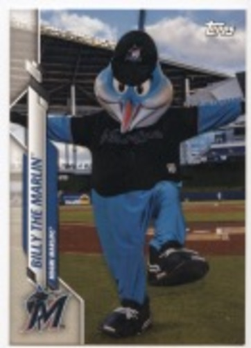 Photo of 2020 Topps Opening Day Mascots #M21 Billy the Marlin