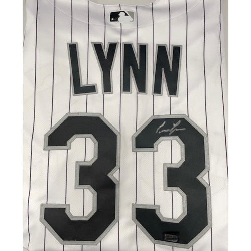 Photo of Lance Lynn Autographed Jersey