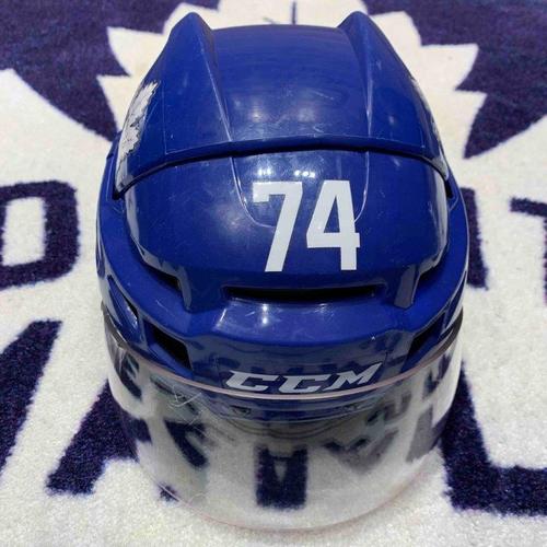 Blue Training Camp Worn Helmets Size Small