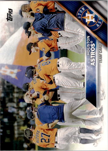 Photo of 2016 Topps #302 Houston Astros
