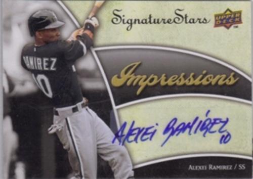 Photo of 2009 Upper Deck Signature Stars Impressions Signatures #AR Alexei Ramirez