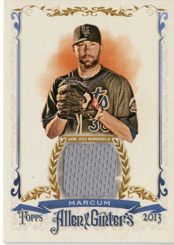 Photo of 2013 Topps Allen and Ginter Relics #SMC Shaun Marcum
