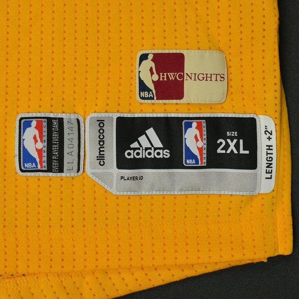 836860211 Larry Nance Jr. - Los Angeles Lakers - Game-Worn Hardwood Classics ...