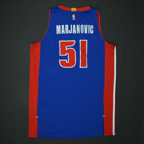 Boban Marjanovic - Blue Regular Season - worn 1 12 17 - Recorded a  Double-Double. Price   1 4e65e21f8