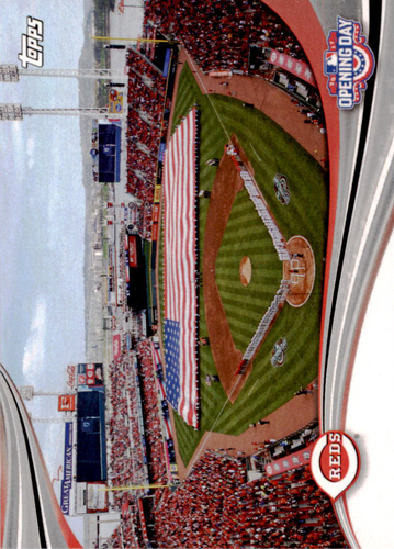 Photo of 2017 Topps Opening Day Opening Day #ODB7 Cincinnati Reds