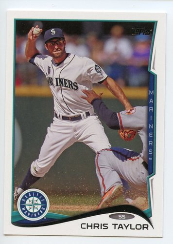 Photo of 2014 Topps Update #US180 Chris Taylor Rookie Card