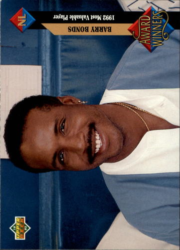 Photo of 1993 Upper Deck #486 Barry Bonds AW