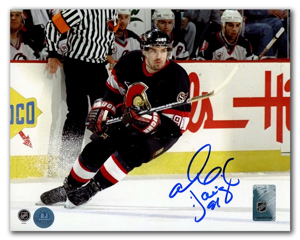 Alexandre Daigle Ottawa Senators Autographed Hockey Action 8x10 Photo