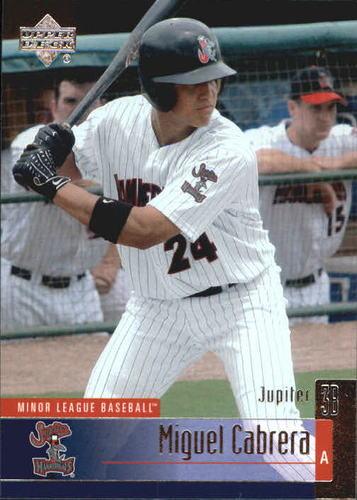 Photo of 2002 UD Minor League #111 Miguel Cabrera