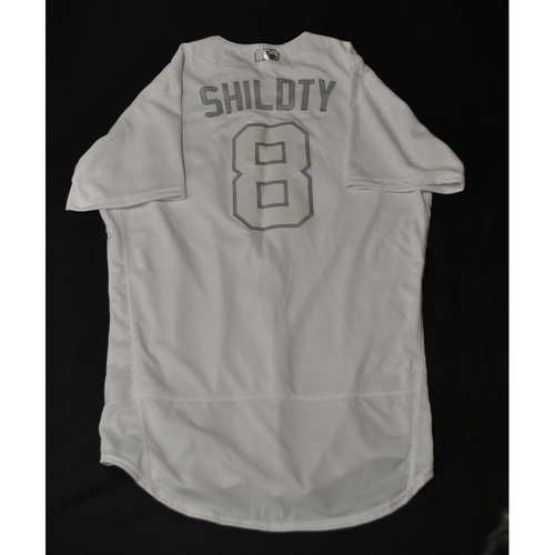 "Photo of Mike ""SHILDTY"" Shildt St. Louis Cardinals Game-Used 2019 Players' Weekend Jersey"