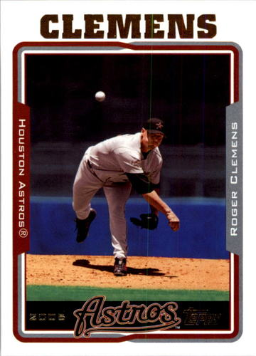 Photo of 2005 Topps #565 Roger Clemens