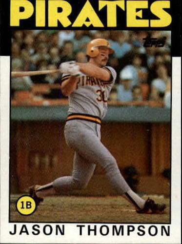 Photo of 1986 Topps #635 Jason Thompson