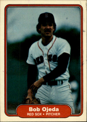 Photo of 1982 Fleer #301 Bob Ojeda RC