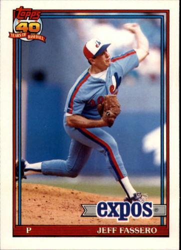 Photo of 1991 Topps Traded #39T Jeff Fassero RC