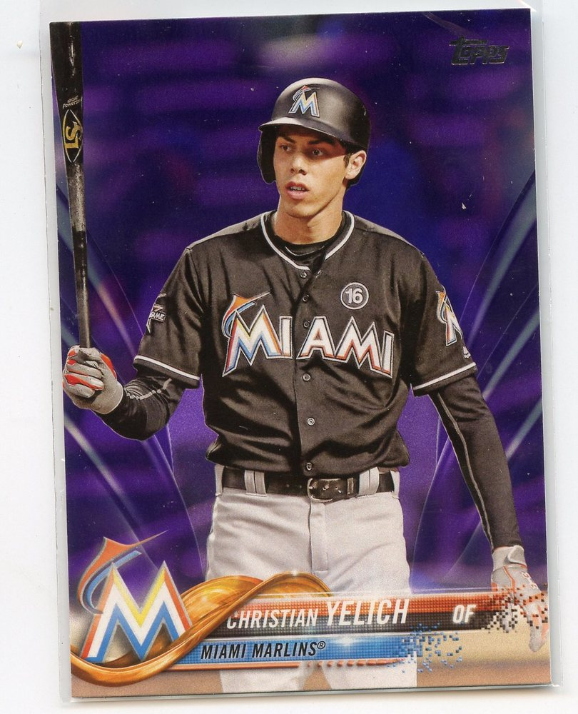 2018 Topps Toys R Us Purple #170 Christian Yelich