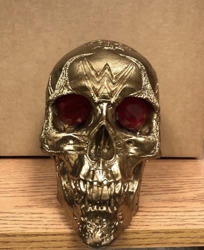 Photo of Tom Savini Studios Wrestlemania 36 Exclusive Custom Handmade Skull