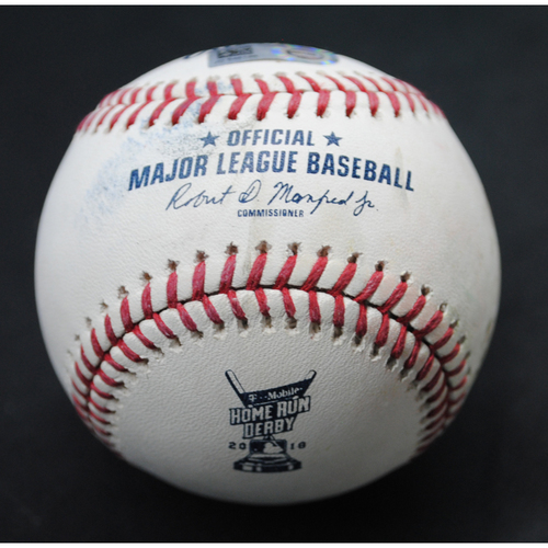 Photo of 2018 Home Run Derby (07/16/18) - Game-Used Baseball - Bryce Harper (Washington Nationals) - Round 1, Out