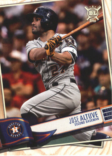 Photo of 2019 Topps Big League #100 Jose Altuve