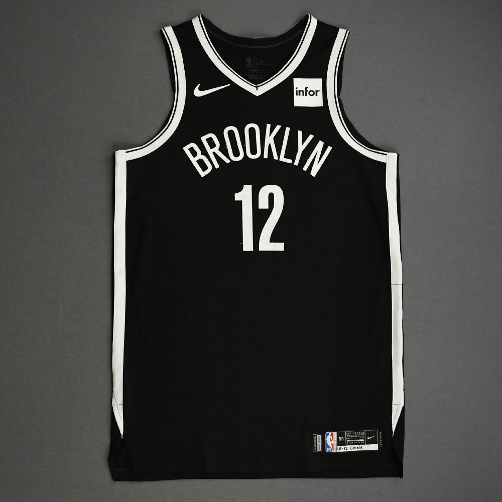 Joe Harris - Brooklyn Nets - NBA China Games - Game-Worn Icon Edition Jersey - 2019-20 NBA Season