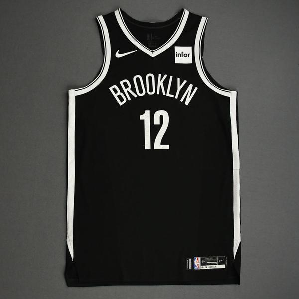 Image of Joe Harris - Brooklyn Nets - NBA China Games - Game-Worn Icon Edition Jersey - 2019-20 NBA Season