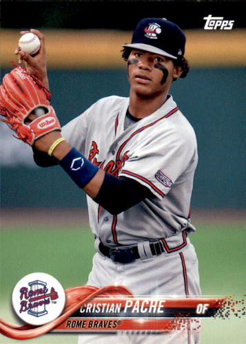 Photo of 2018 Topps Pro Debut #188 Cristian Pache