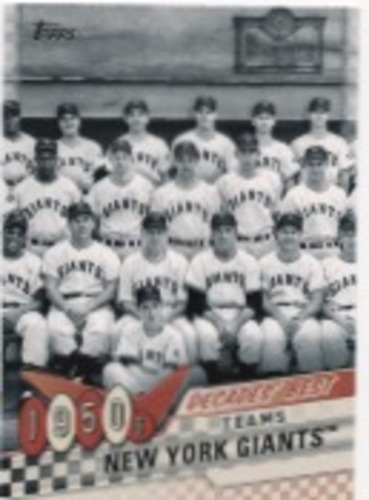 Photo of 2020 Topps Decades' Best Series 2 #DB5 New York Giants