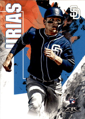 Photo of 2019 Topps Fire #61 Luis Urias RC