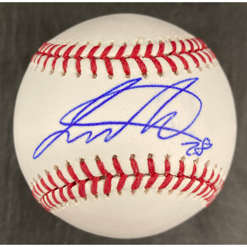 Photo of Leury Garcia Autographed Baseball