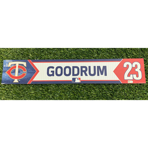 Photo of Minnesota Twins 2017 Game-Used Locker Name Tag - Choose Your Player!