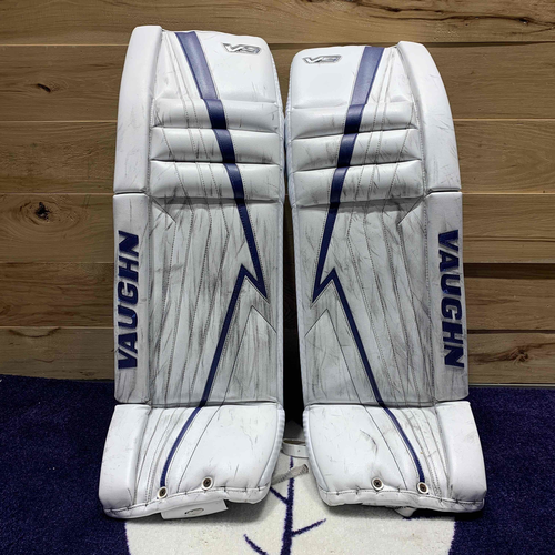 Jack Campbell 2020-21 Game Used Goal Pads (Photo-Matched to NHL Record)