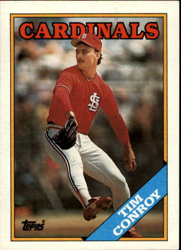 Photo of 1988 Topps #658 Tim Conroy/Inconsistent design,/name in white