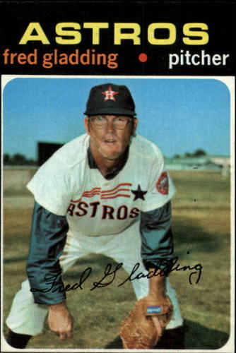 Photo of 1971 Topps #381 Fred Gladding