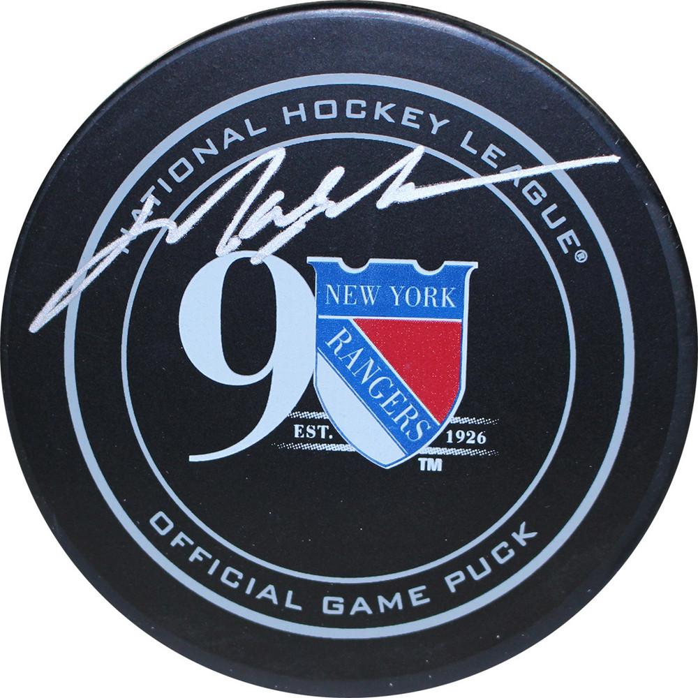 meet c3d3d 34c9f Mark Messier Signed New York Rangers 90th Anniversary ...