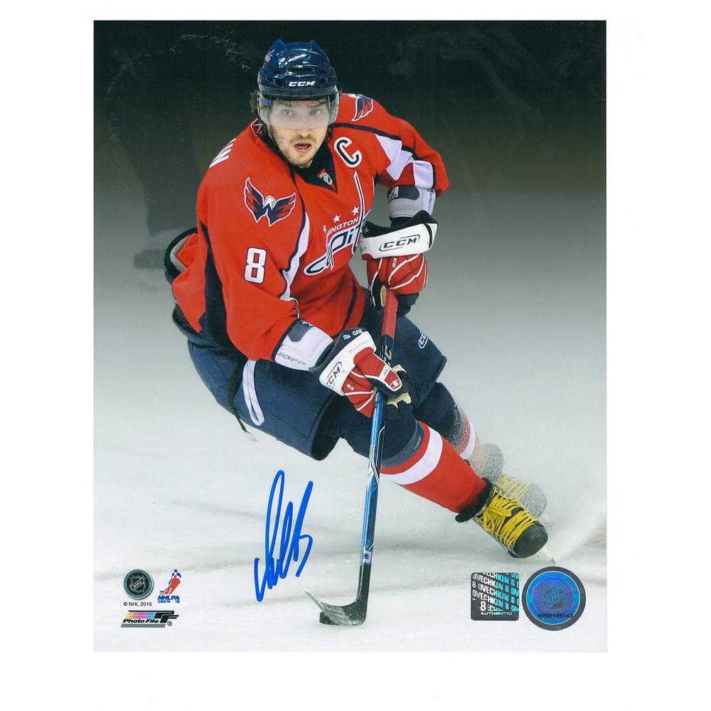 ALEX OVECHKIN Signed Washington Capitals 8 X 10 Photo - 70502 - NHL ... c1d454215