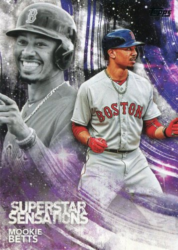 Photo of 2018 Topps Superstar Sensations #SSS47 Mookie Betts