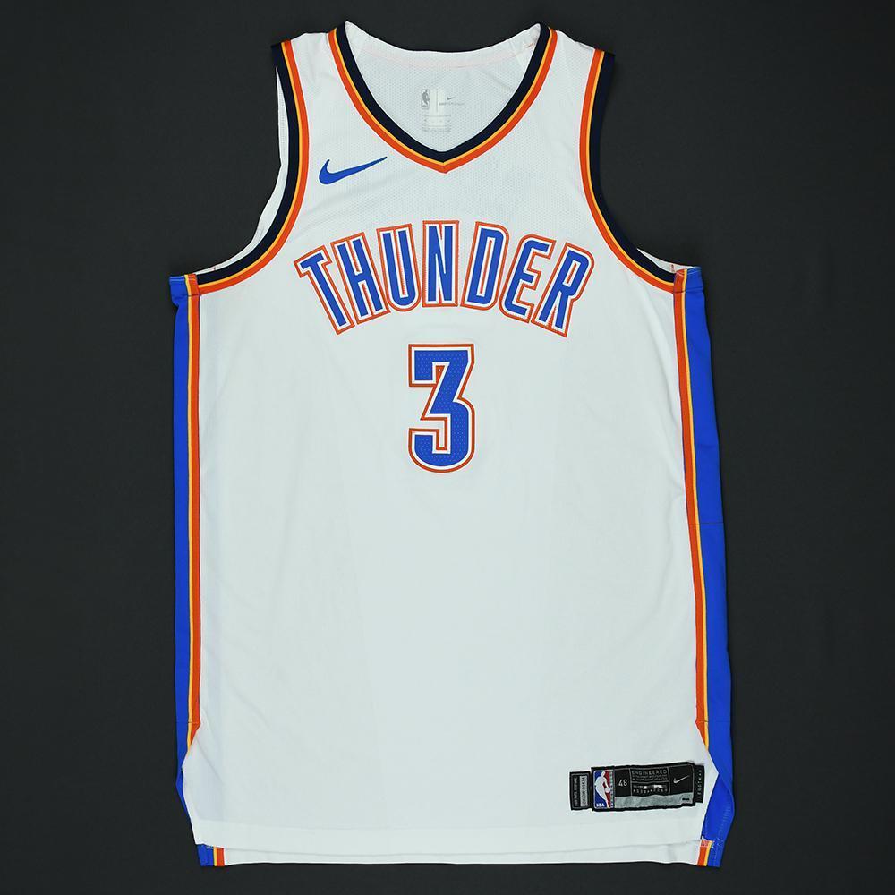 Corey Brewer - Oklahoma City Thunder - 2018 NBA Playoffs Game-Worn Jersey