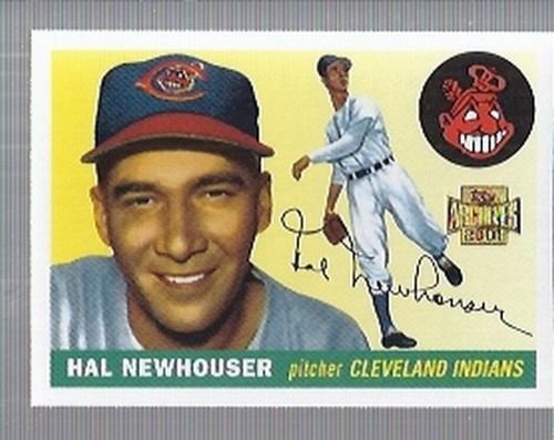 Photo of 2001 Topps Archives #107 Hal Newhouser -- Hall of Fame Class of 1992