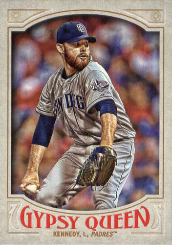 Photo of 2016 Topps Gypsy Queen #185 Ian Kennedy
