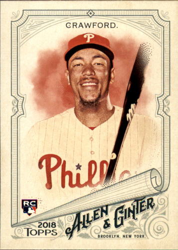 Photo of 2018 Topps Allen and Ginter #127 J.P. Crawford RC