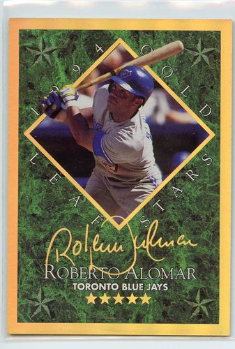 Photo of 1994 Leaf Gold Stars #1 Roberto Alomar